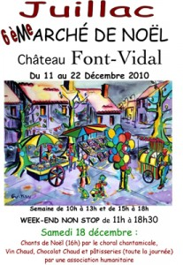 Marché de Noël de Font-Vidal
