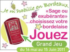 Je m'habille en Bordeaux