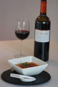 Potimarron au foie gras poêlé