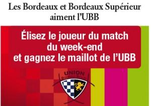 Jeu Bordeaux et Bordeaux Supérieur et UBB