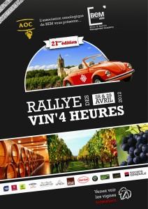 Rallye Vin 4 Heures 2012