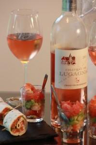 Apéro Bordeaux Rosé Wrappé et Verriné
