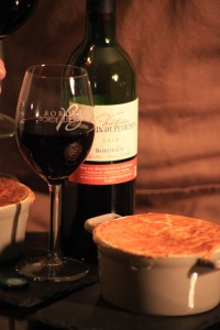 Steak and Bordeaux Pie