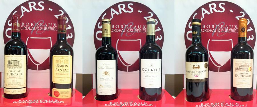 Oscars Bordeaux Rouge millésime 2011