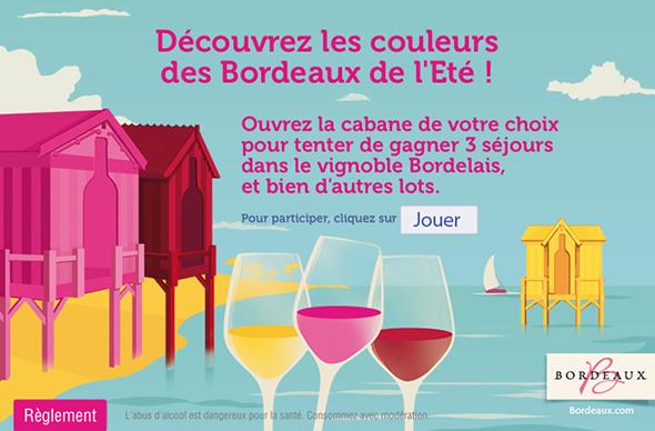 Découvrez les couleurs des Bordeaux de l'été