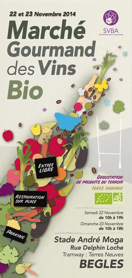 Marché Gourmand des Vins Bio 2014