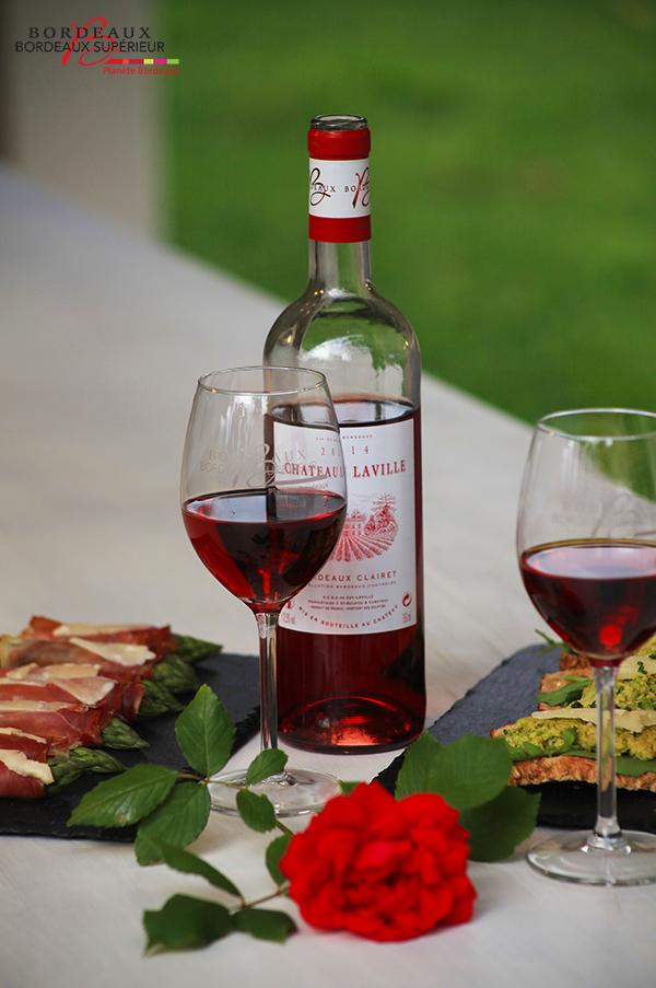 Tapas Asperges Serrano & Bordeaux Clairet