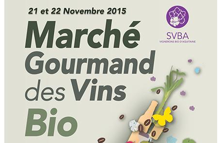 Marché Gourmand des Vins bio 2015