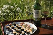 Makis printaniers et Bordeaux Blanc