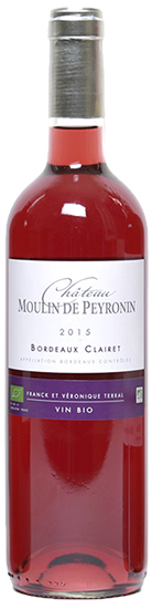 Château Moulin de Peyronin Oscars 2016 Clairet
