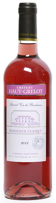 Château Haut Grelot Oscars Clairet Millésime 2015