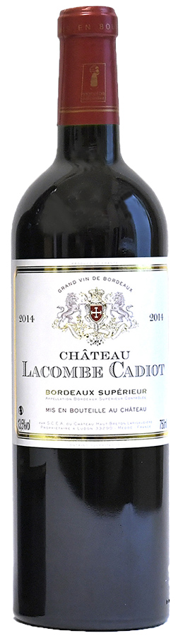 Château Lacombe Cadiot 2016