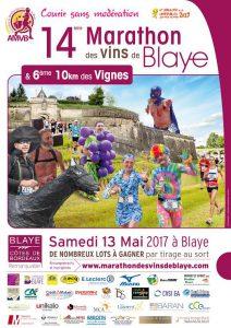 Marathon des Vins de Blaye 2017